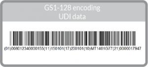 GS1 128 UDI